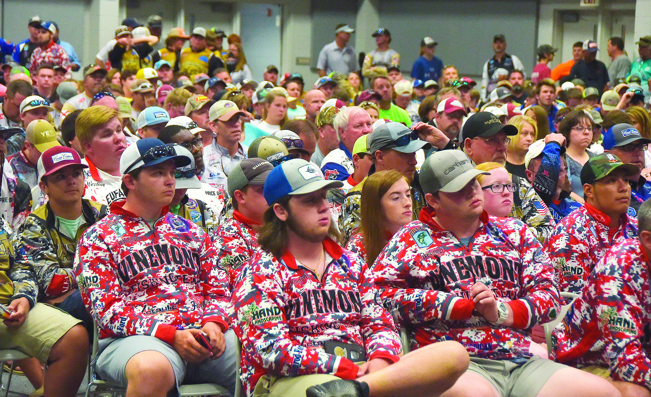 More than 40 high school fishing teams are in Jasper for the Alabama Student Angler Bass Fishing Association's state championship tournament on Lewis Smith Lake. The high school anglers held a briefing at the Jasper Civic Center Thursday night. The tournament kicked off early this morning.