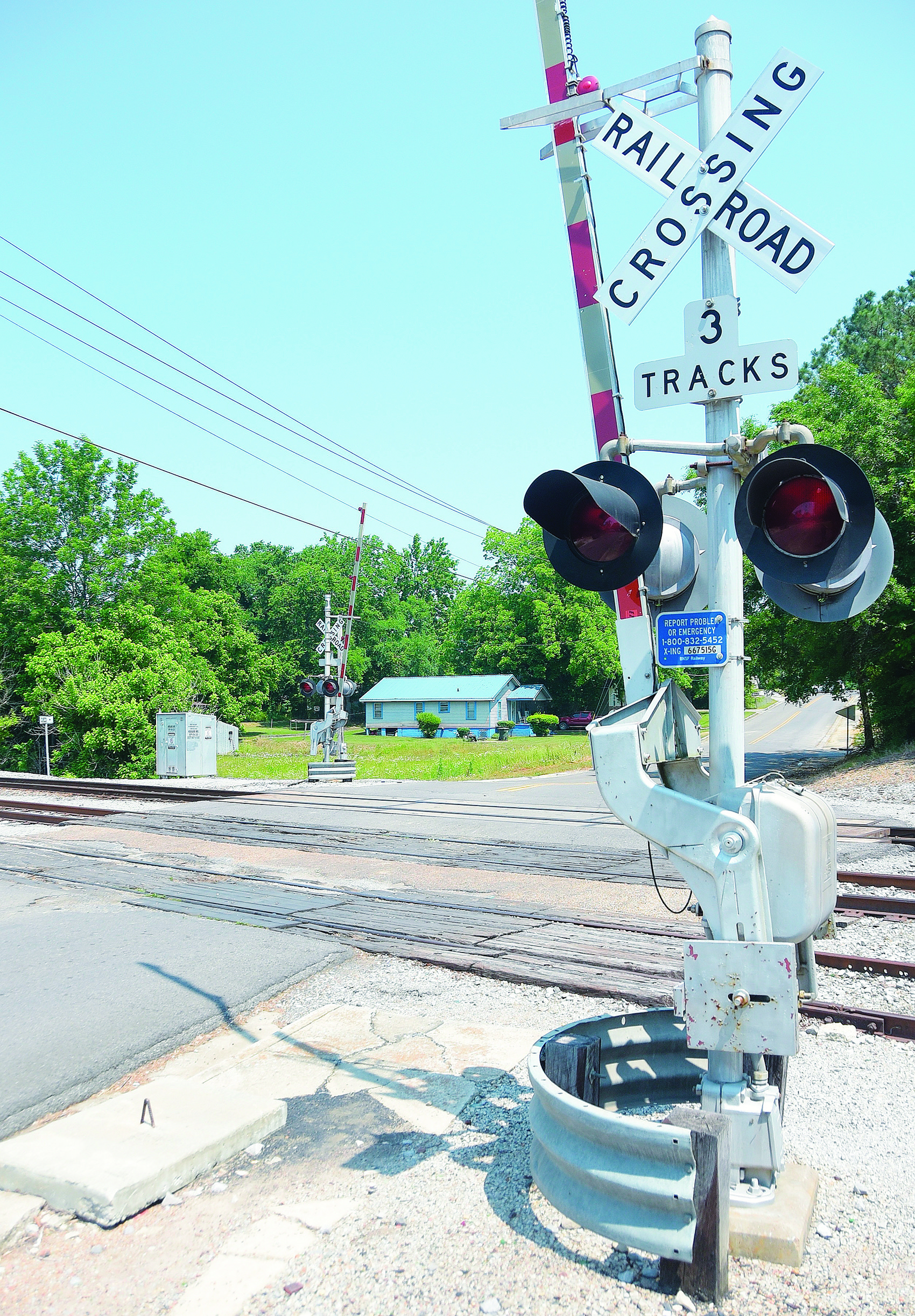 A railroad crossing on Highland Avenue just off Old Birmingham Highway in Jasper will be reworked beginning next week after years of being in disrepair.