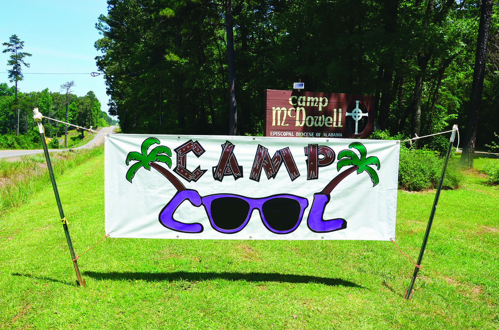 Camp COOL is held each June at Camp McDowell. The camp is designed for children with cerebral palsy and spina bifida.
