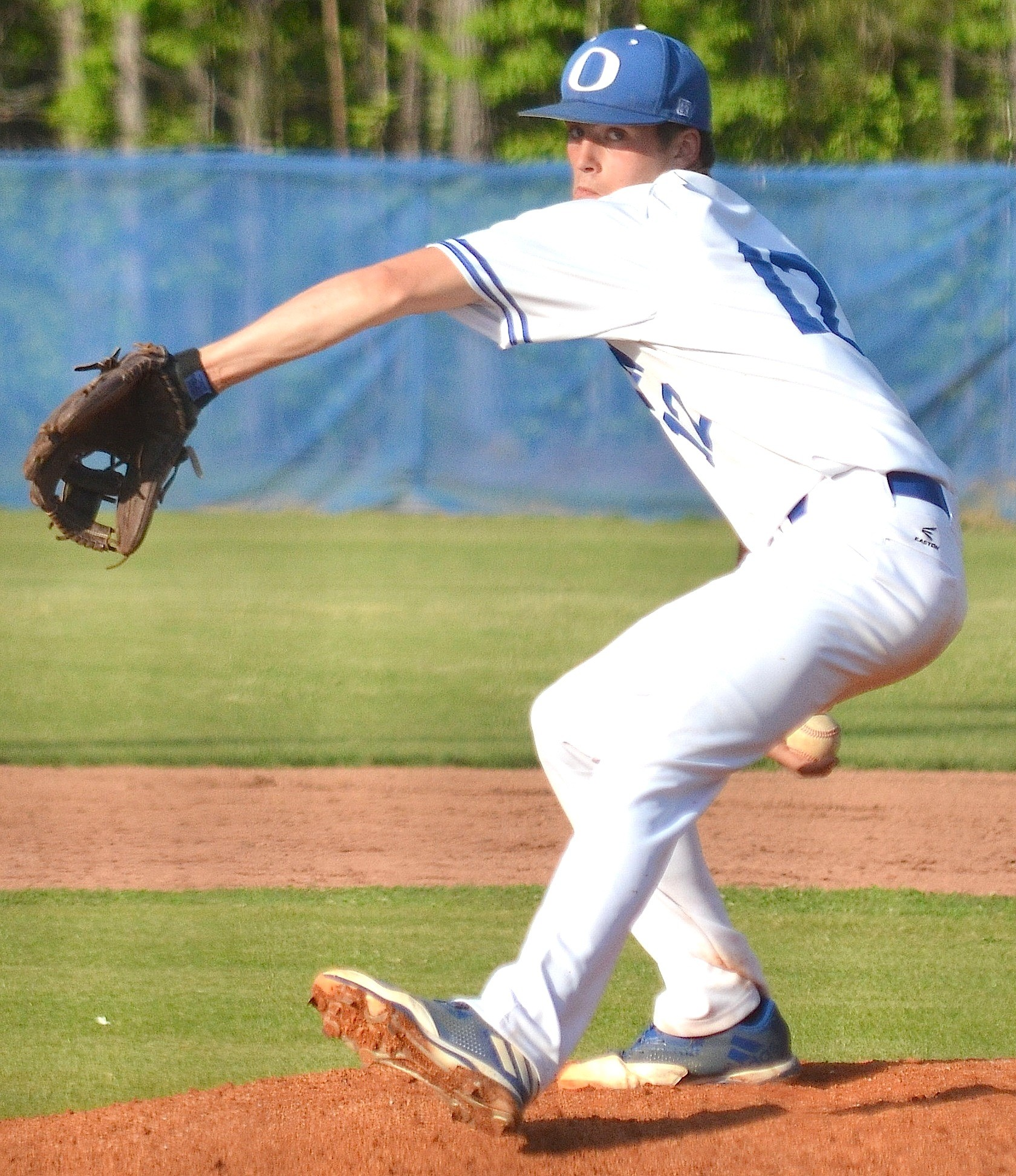 Oakman's CJ Hall is the Eagle Elite Pitcher of the Year after amassing a 7-5 record with a 1.04 ERA for the Wildcats.