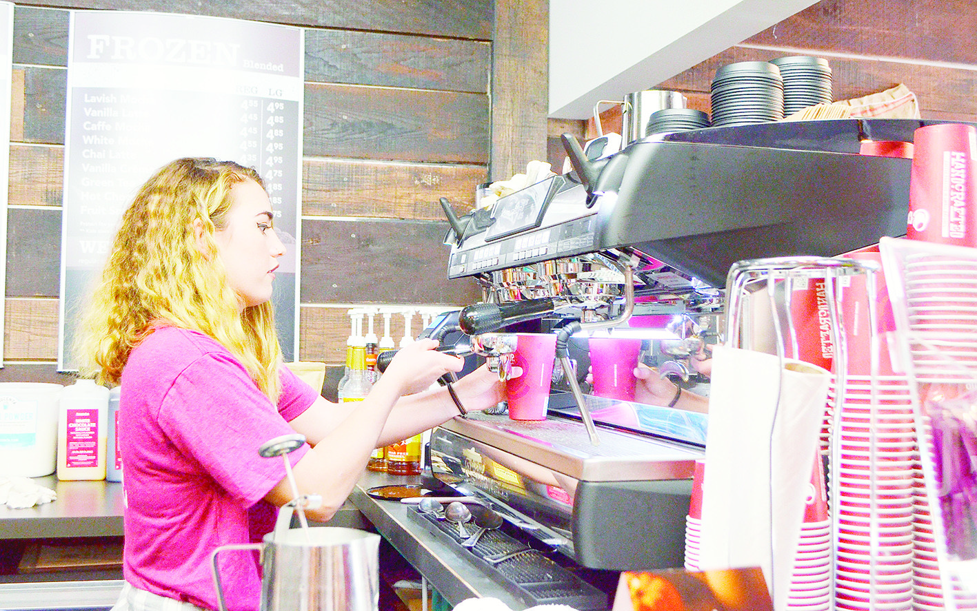 Lavish Boutique and Coffee Bar is in the running to be named the Retailer of the Year by the Alabama Retail Association.