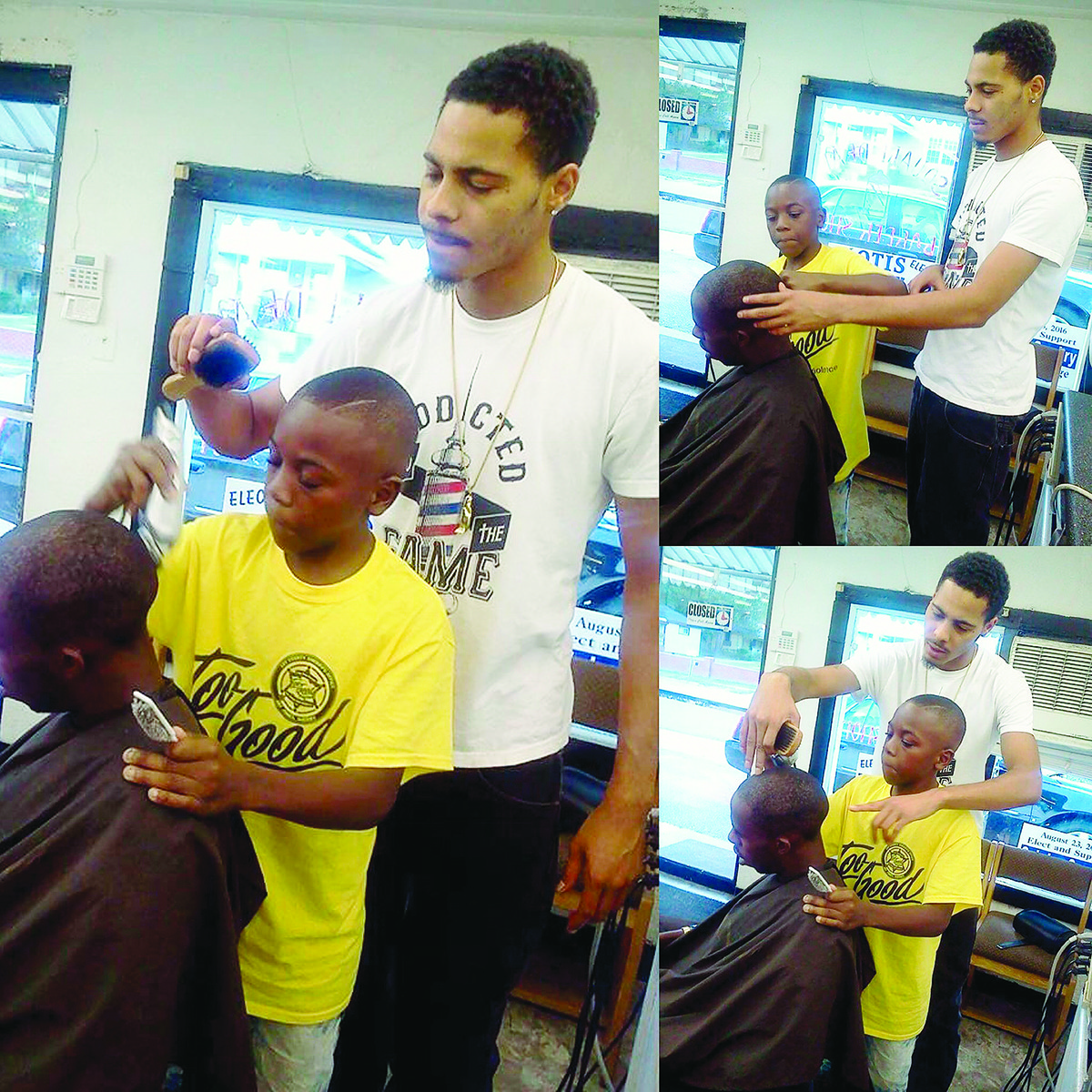 Celebrity barber Jason Walker helps train the next generation of barbers. Walker, who just completed work on his first film production, is passionate about inspiring barbers to see themselves as artists.