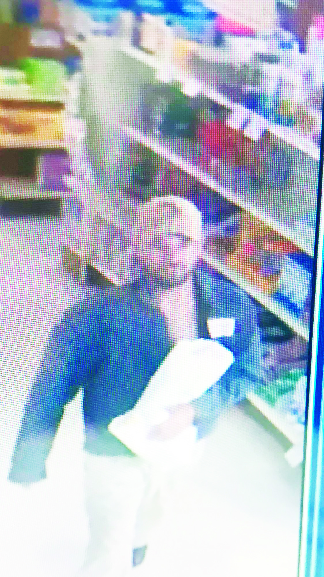 Sumiton police are hoping someone can identify this suspect in a robbery Thursday afternoon at Brooklere Pharmacy in Sumiton.