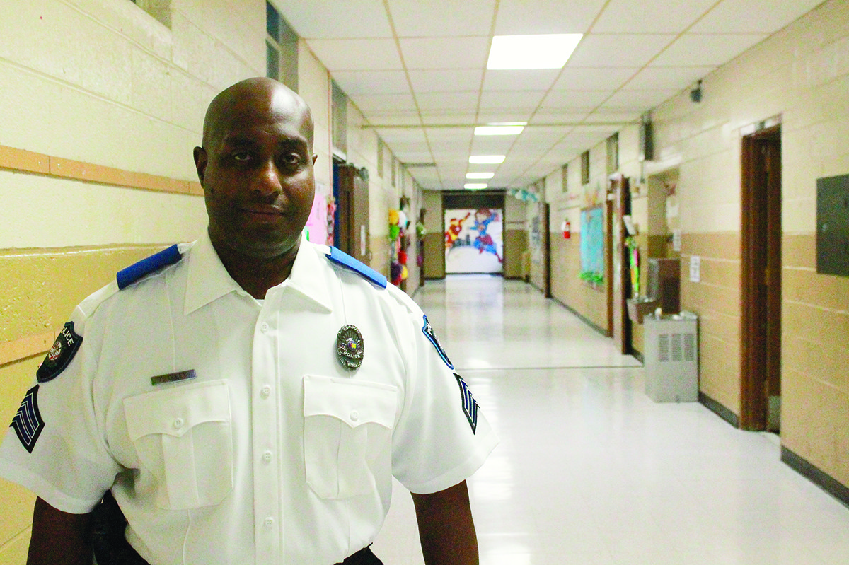 Coley assumes role as school resource officer | Daily ...
