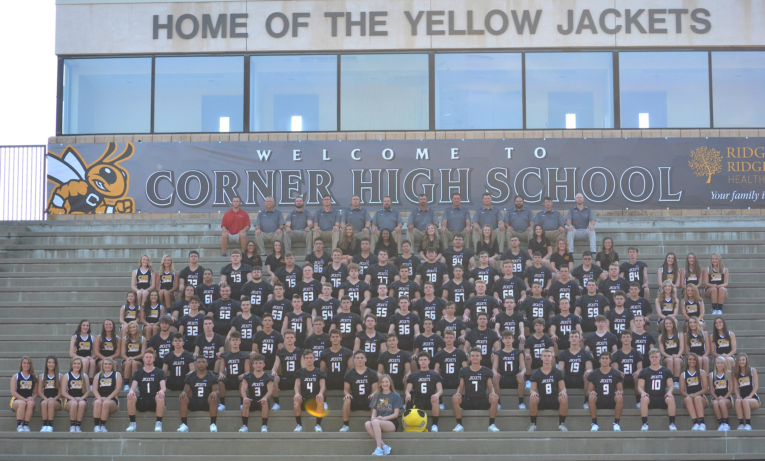 2018 Corner Yellow Jackets
