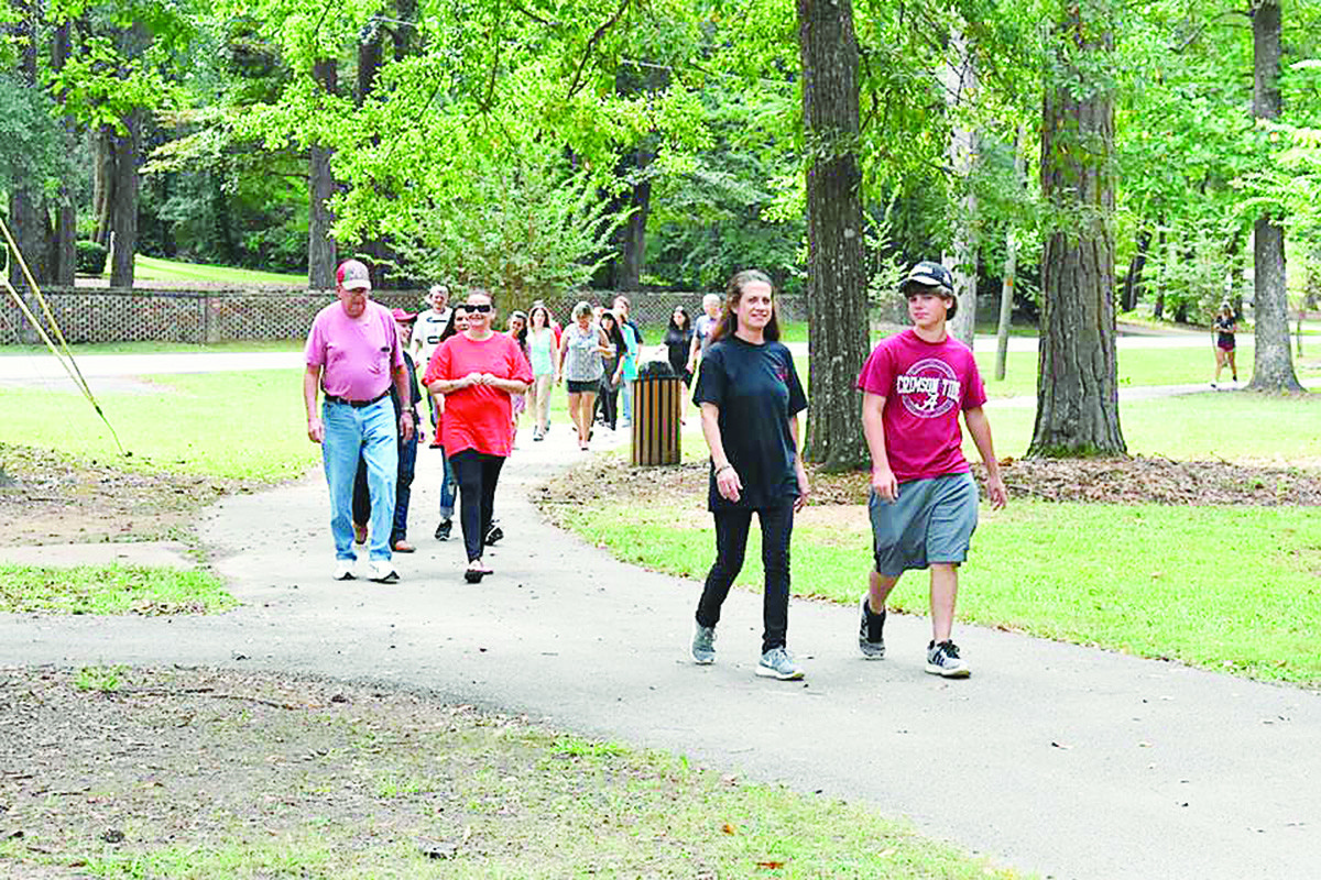 The Walk for Hope, sponsored by Hope for Women, was held at Gamble Park in Jasper Saturday morning, showing support for those fighting addictions and remembering those who have lost their lives.
