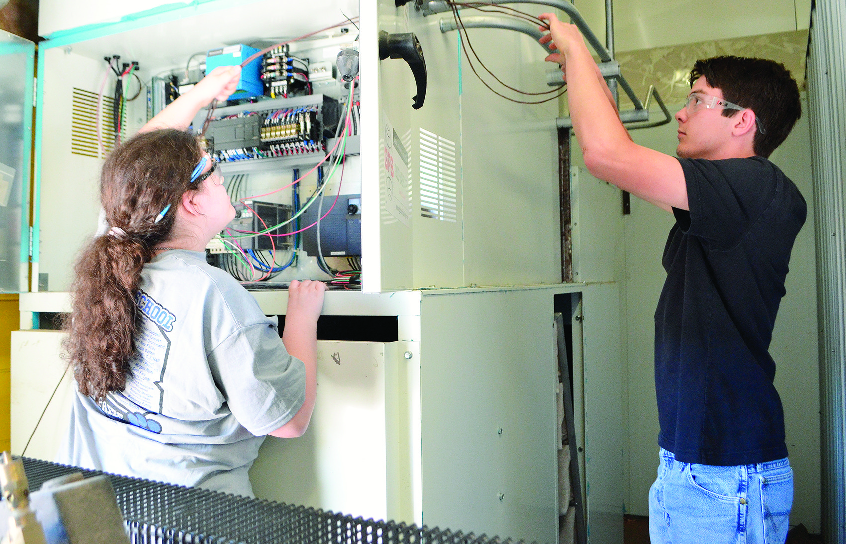 Due to leadership at the Walker County Center of Technology, students are learning cutting edge skills and taking advantage of new programs.