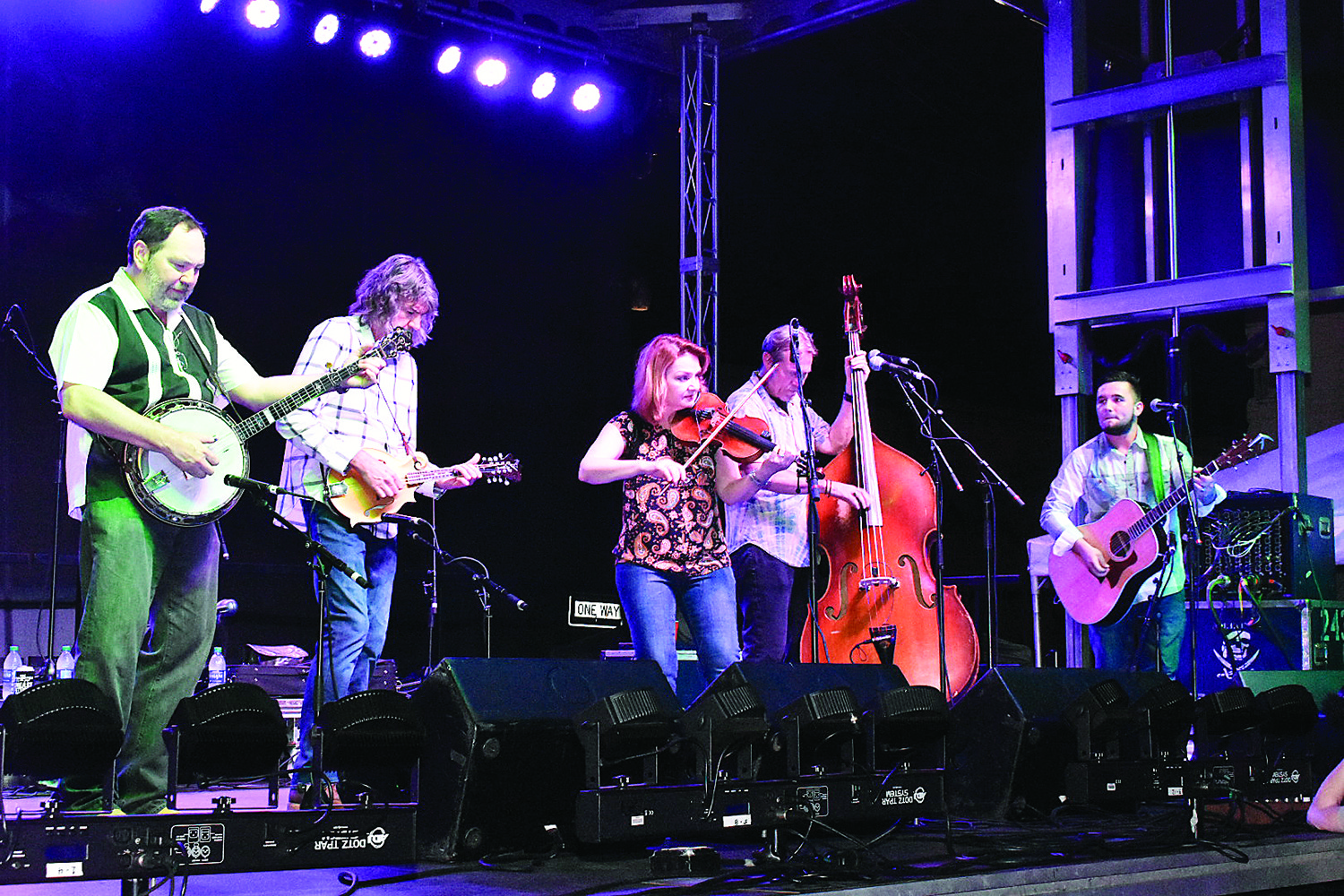 The 2018 Coca-Cola Foothills Festival opened Friday night with performances by River Dan, Will Hoge and The SteelDrivers.