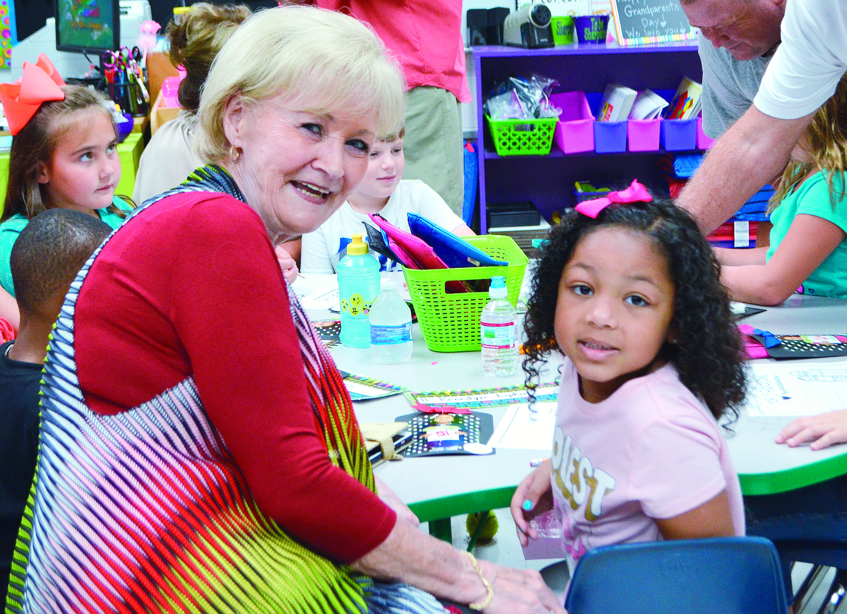 Grandparents spent time with their grandchildren at T.R. Simmons Elementary School on Friday, ahead of Grandparents Day, which is celebrated today. Schools across Walker County welcomed grandparents last week to enjoy lunch with their grandchildren or visit their classrooms.