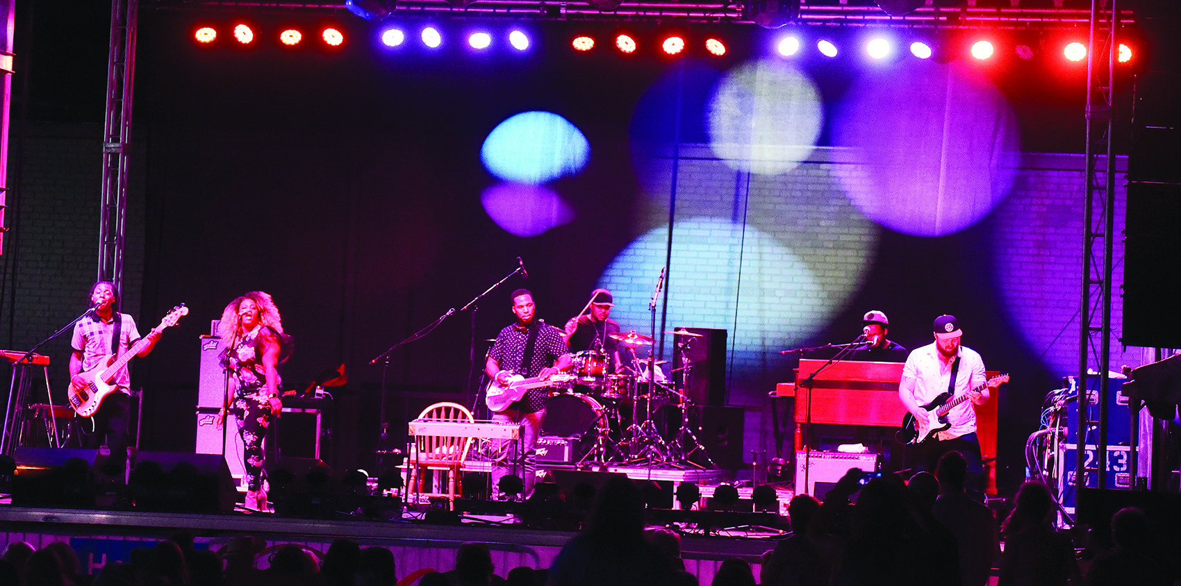 Robert Randolph and the Family Band was the headlining act at this year's Foothills Festival.