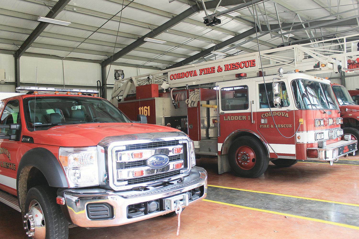 An open house will be held at the new Cordova Fire Department on Saturday from 10 a.m. to 2 p.m.