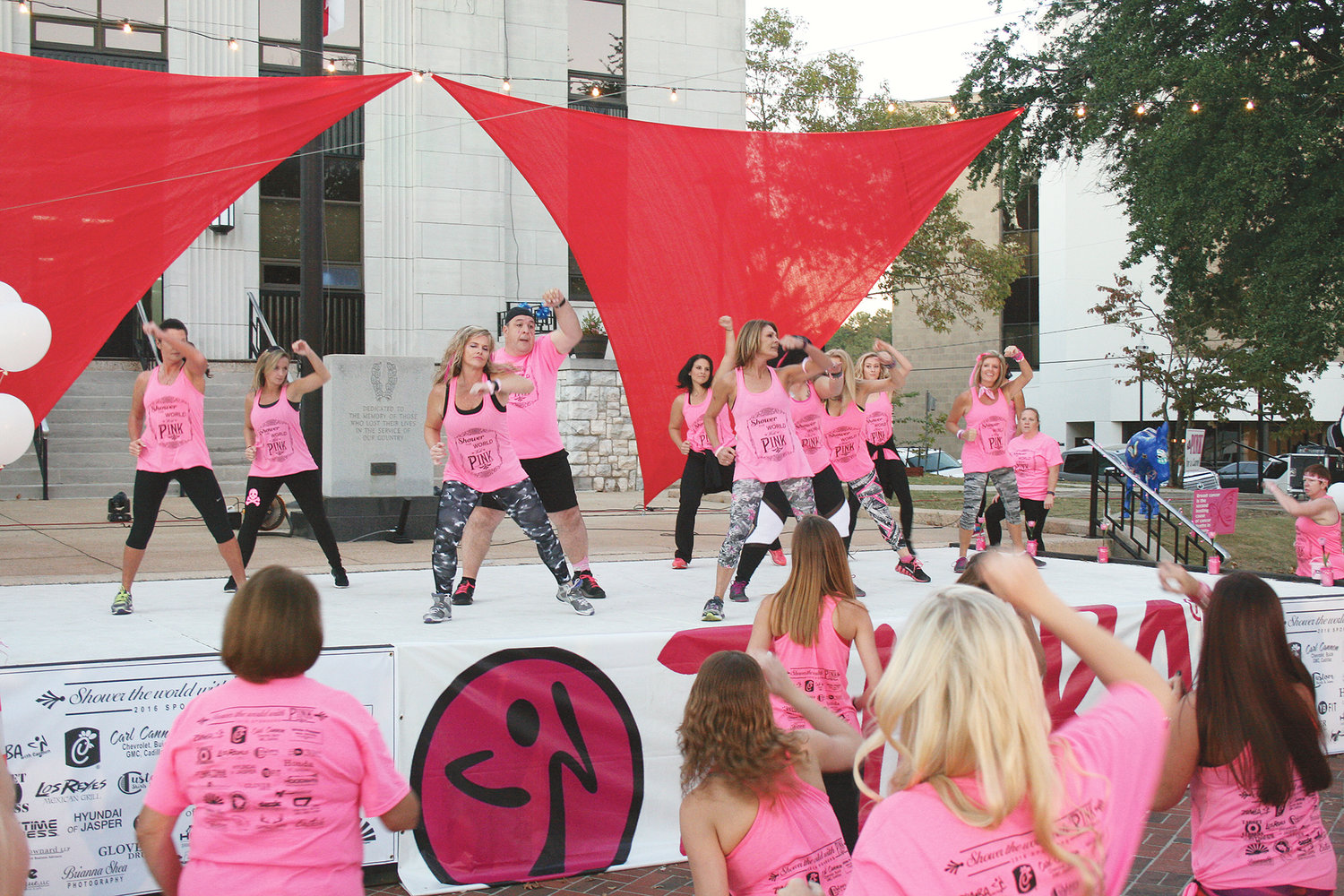 The Eighth annual Party for Pink Celebration is planned for today on the Walker County Courthouse Square in downtown Jasper.