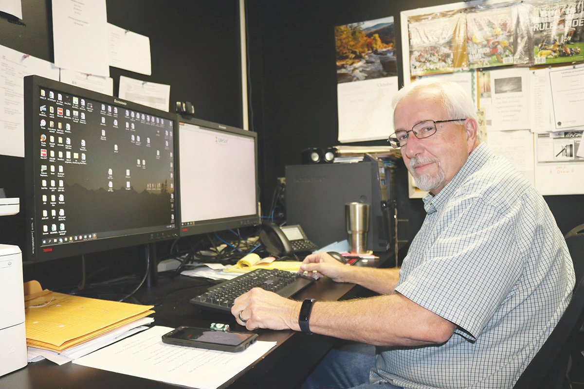 Craig Bonta, media specialist at Bevill State Community College retires on October 31.