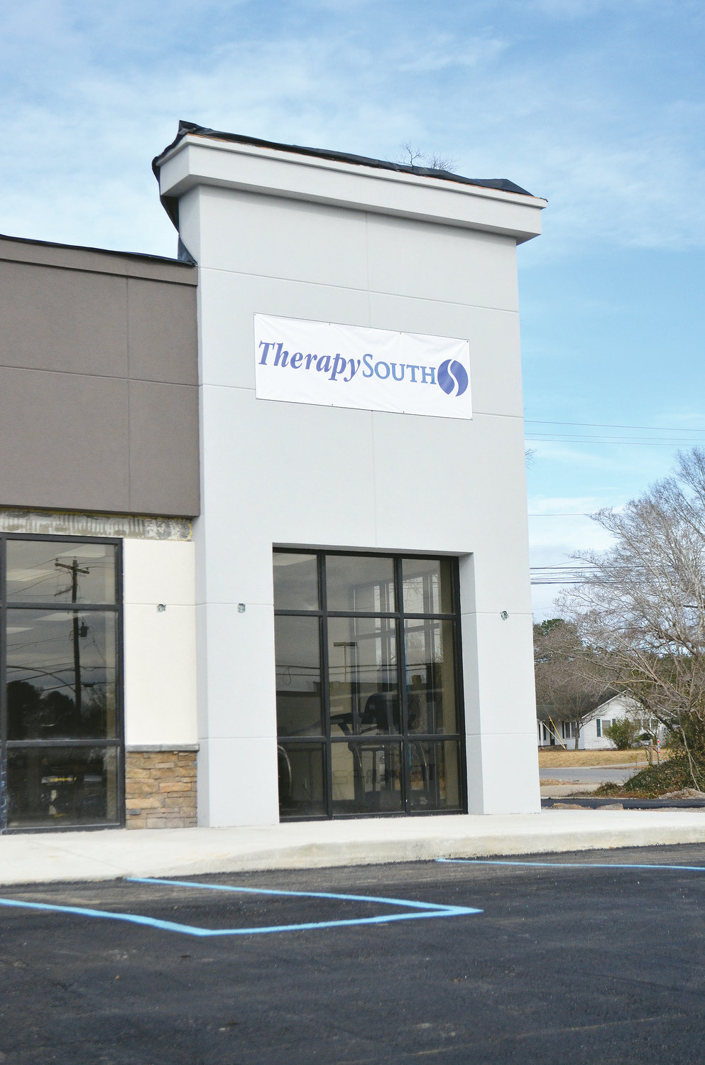 TherapySouth is one of three or four businesses that will locate in the old Solid Image Fitness building along Airport Road in Jasper.