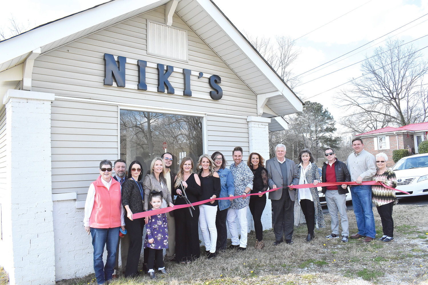 A ribbon-cutting was held for the new location of Niki's Solon Monday at 1500 9th Ave. in Jasper, next to the Jasper Feed and Seed.  Owner Niki Sherer, a Curry native who lives now in Jasper, said the business opened there about six weeks ago, after moving from from its Highway 78 West location after eight years. The business employs five people.  The salon is open Tuesday through Friday 9 a.m. to 5 p.m., and Saturdays from 8 a.m. to noon; appointments for later are welcome.  Anyone may contact the business by its Facebook or Instagram pages, or by calling 205-265-2574; employees can also be reached on their social media pages.