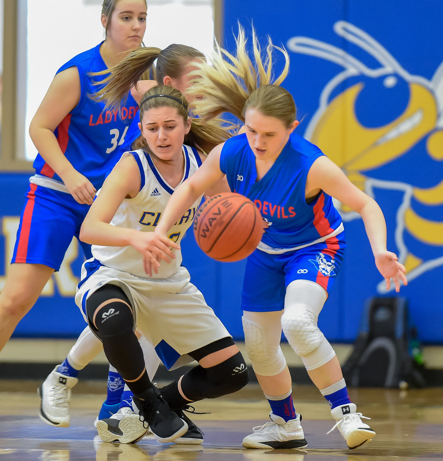 Curry's girls topped Cordova in the area opener on Tuesday. The Jackets play Haleyville for the area tournament title on Thursday starting at 5:30 p.m.