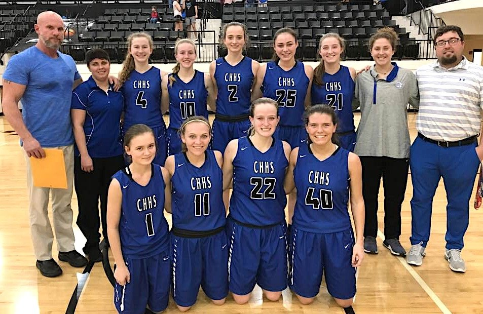Carbon Hill's girls basketball team placed second in the Class 3A, Area 10 Tournament at Winfield High School on Wednesday.