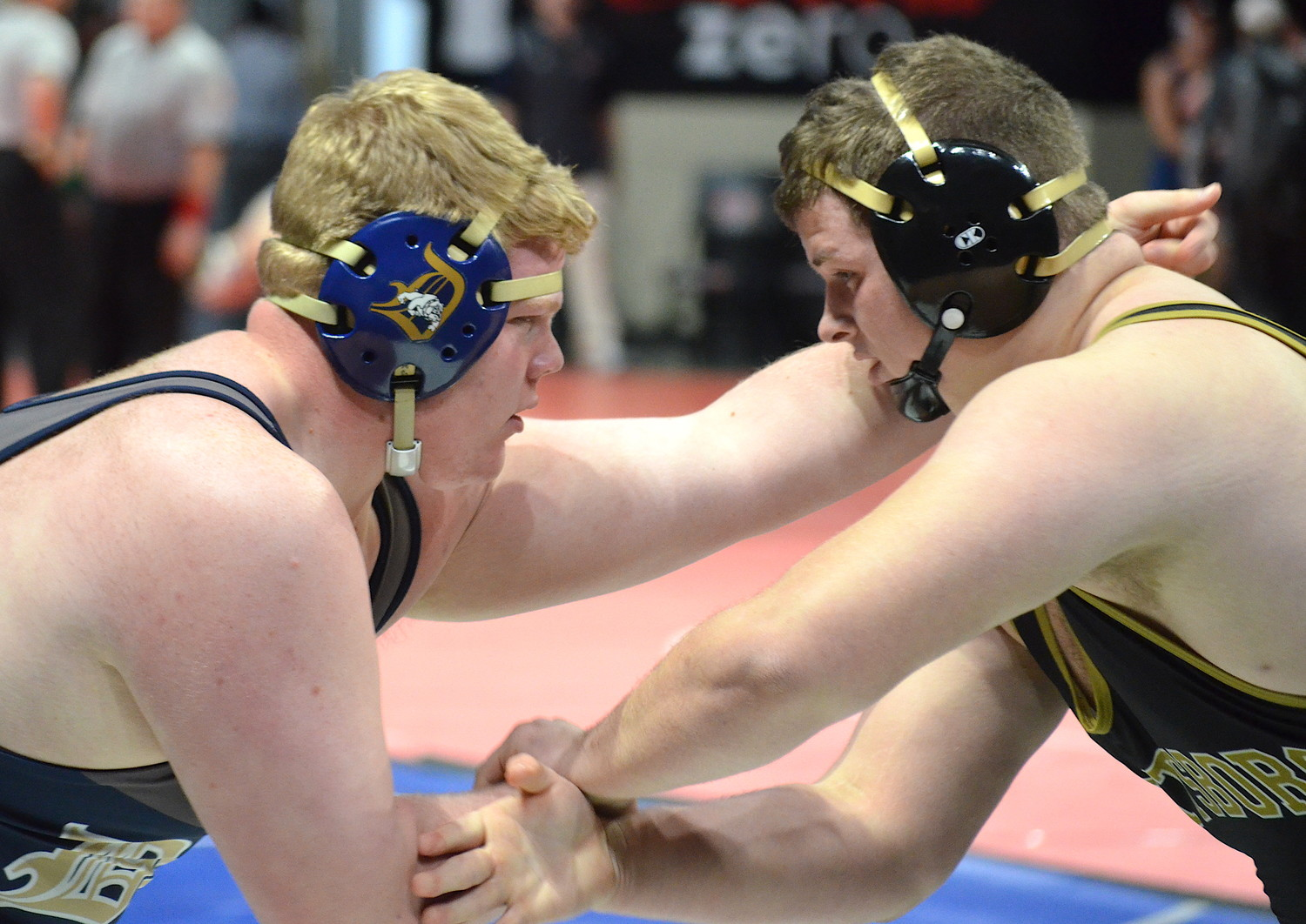 Dora's Bubba Henderson took home second in the 285-pound division at the North Super Section Tournament on Saturday.