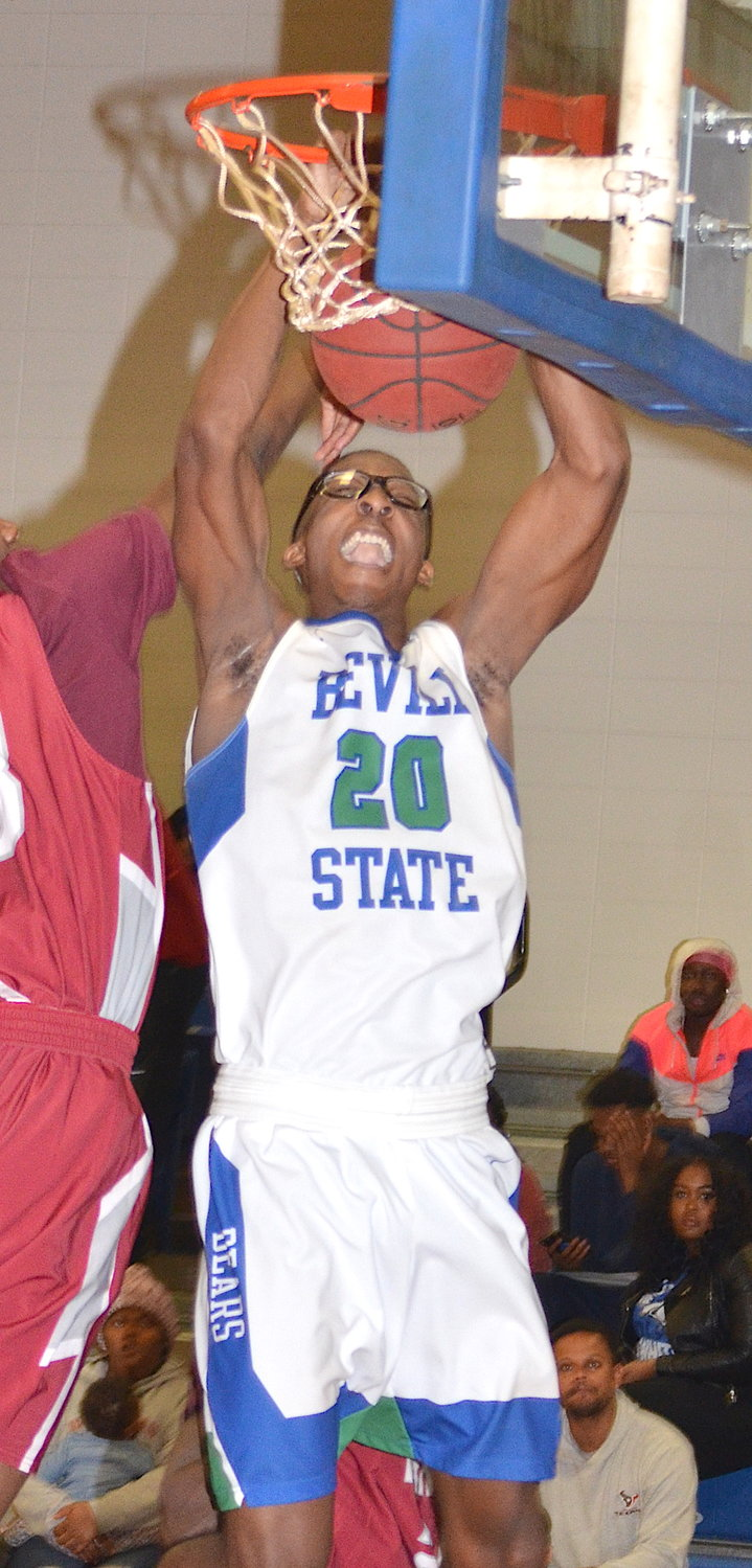 Bevill State's Nelson Haskin is the Daily Mountain Eagle's freshman of the year.