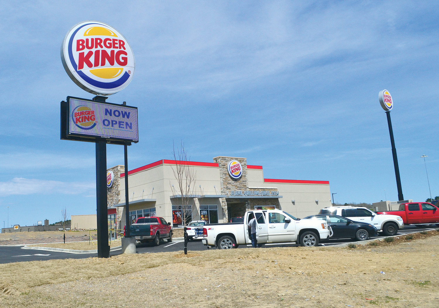 Jasper's second Burger King is now open off the Industrial Boulevard exit of U.S. Interstate 22 in Jasper.