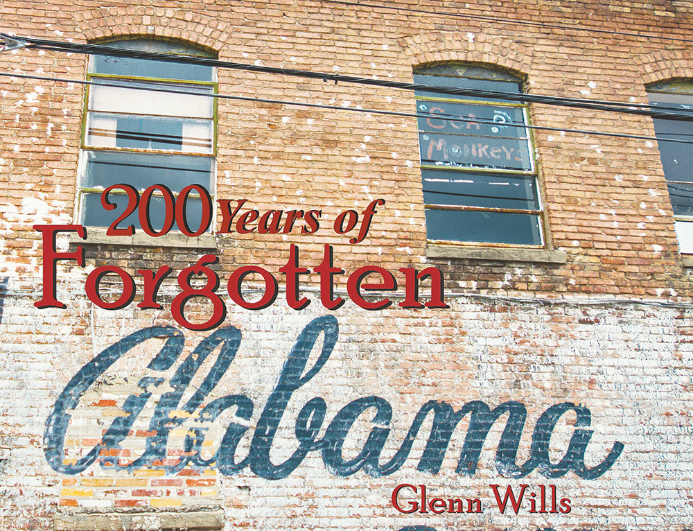 Glenn Wills has published two books of photographs of Alabama's forgotten places and a third is in its final stages.