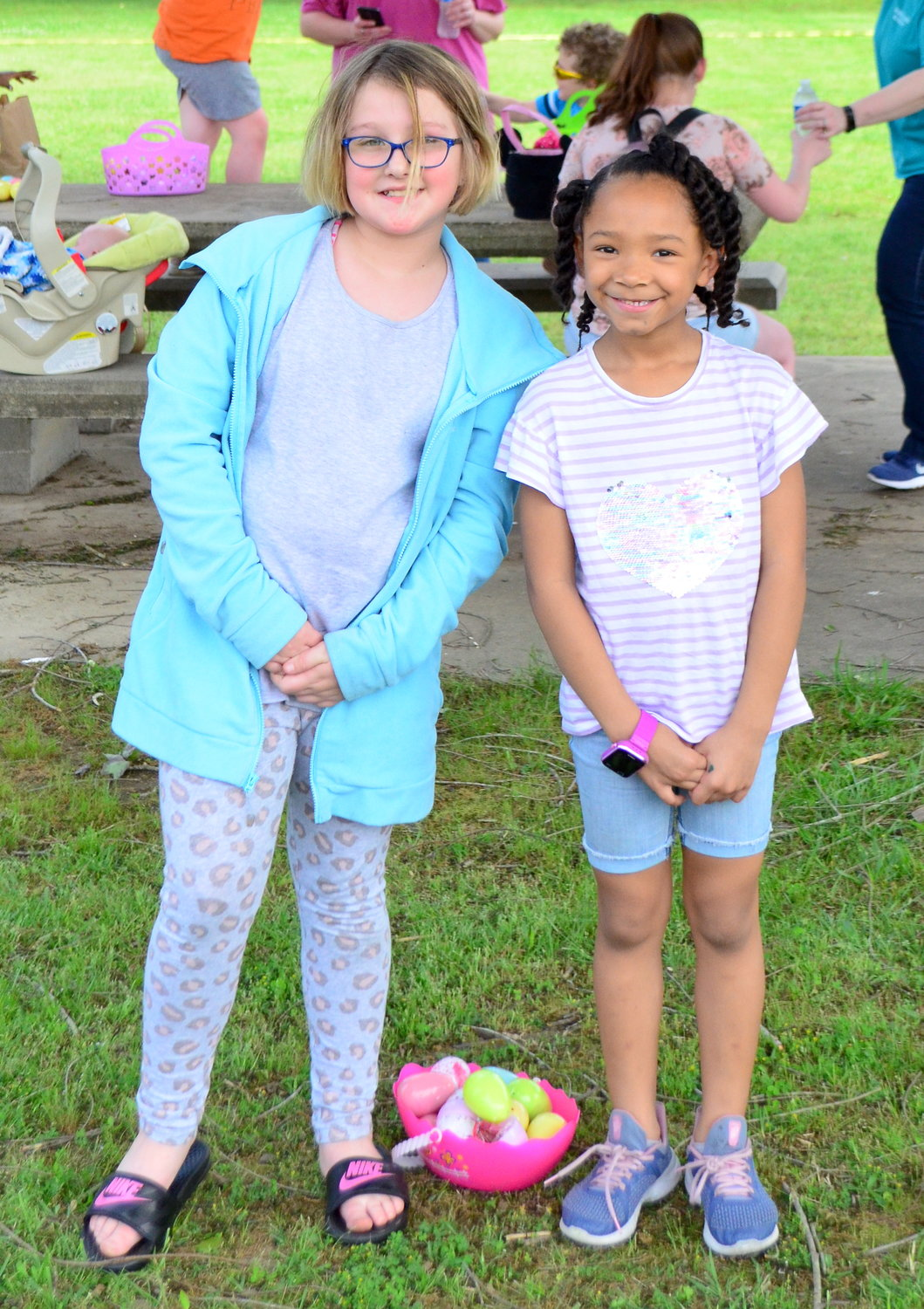 The Jasper Housing Authority hosted an Easter egg hunt today near their facility off Highway 69.