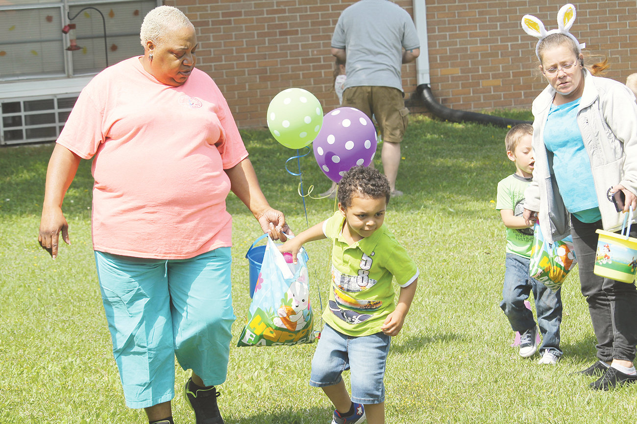 Cordova Health and Rehabilitation held its annual Easter egg hunt for Cordova Elementary School's Head Start students on Thursday.