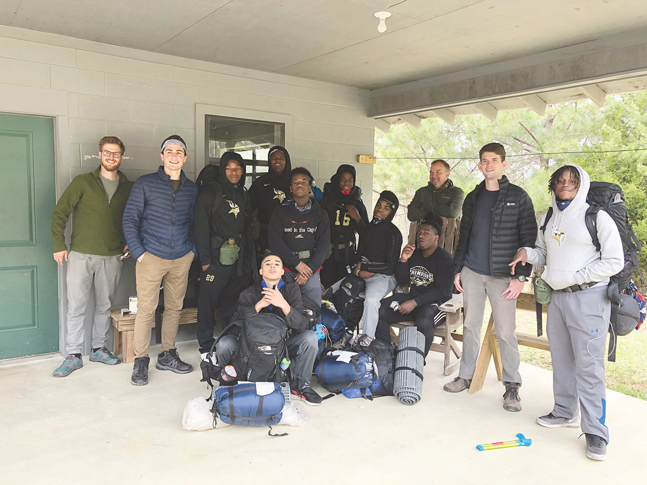 Nine students from Jasper High School were part of the Venture Out pilot program between Jasper High School and Camp McDowell using wilderness backpacking as a backdrop to grow strong leaders in the school and in the community.