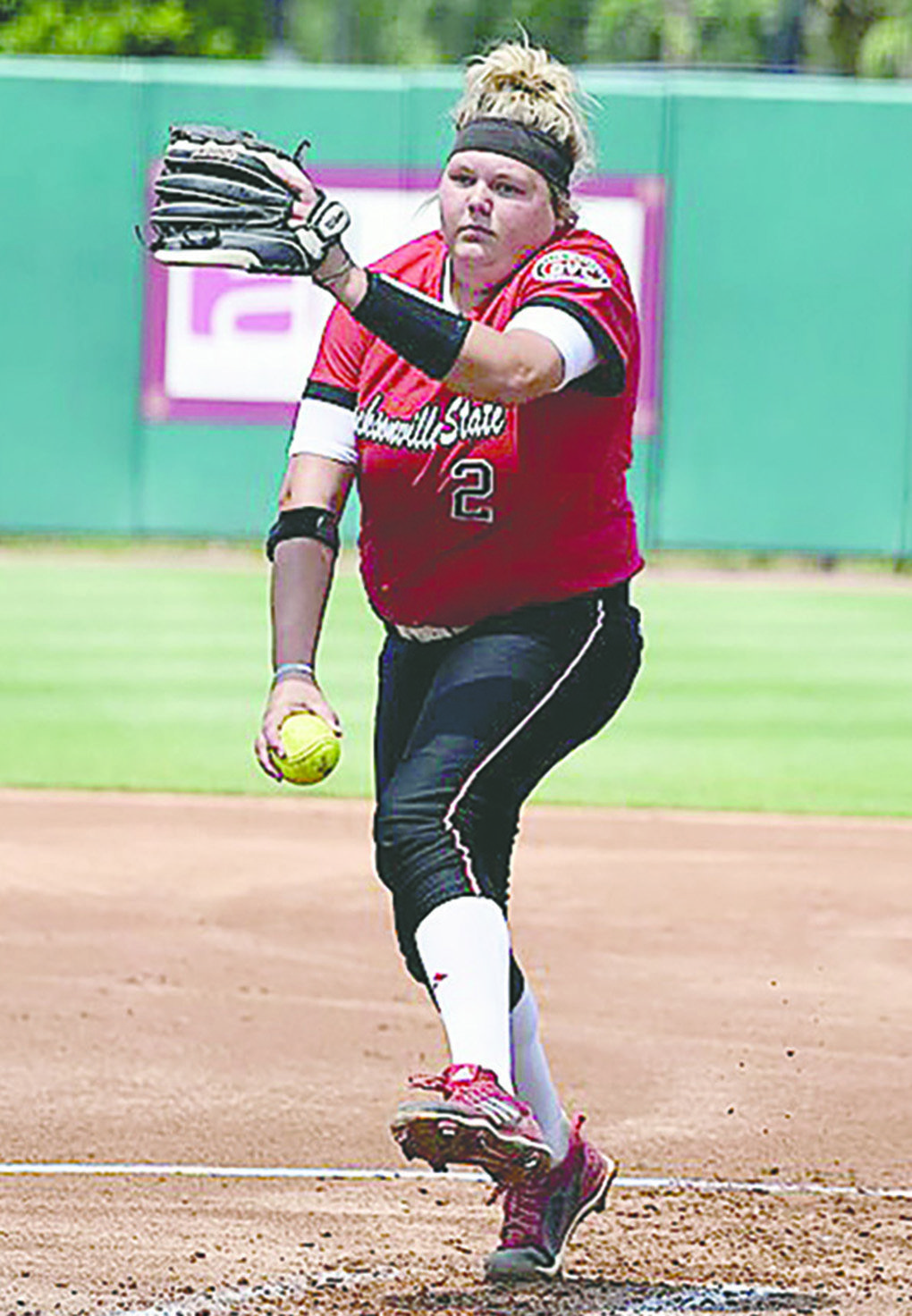 Jacksonville State's Faith Sims, a Cordova standout, has been named Ohio Valley Conference Pitcher of the Year.