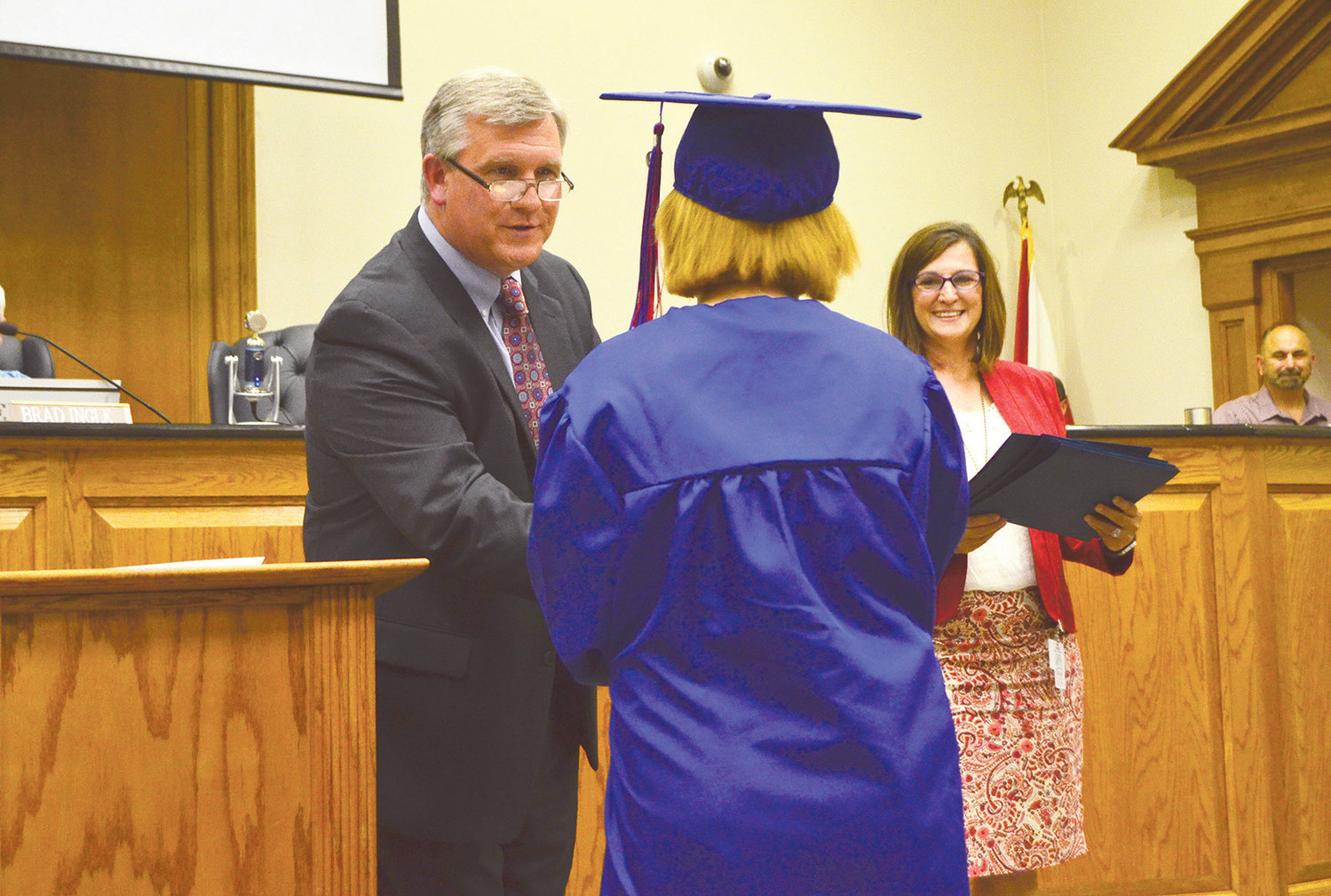 Thirty-one seniors graduated from Twilight Knight School and Hope Academy Thursday afternoon.