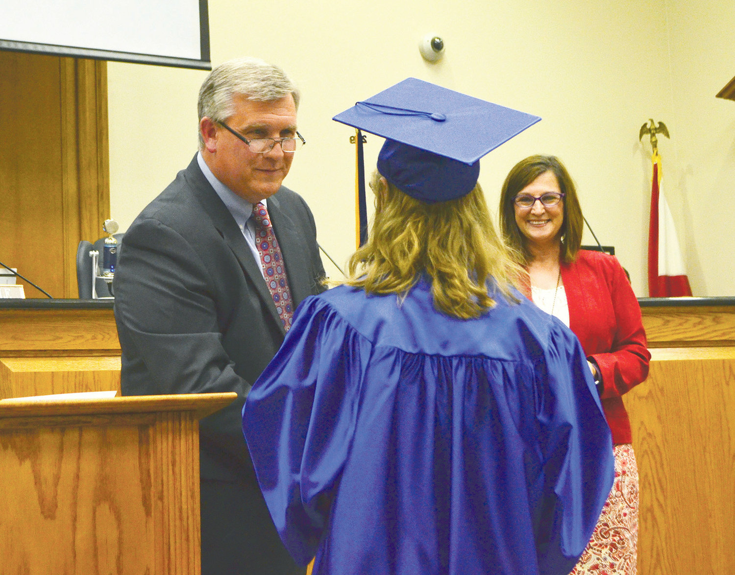 A graduation ceremony was held for Hope and Twilight graduates Thursday.
