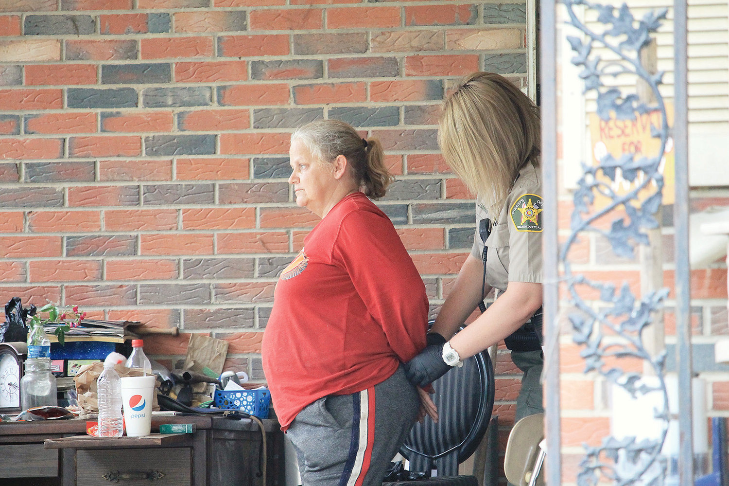 Ten people were arrested on drug charges Wednesday when the Walker County Sheriff's Office's Patrol and Narcotic divisions executed several search warrants in Oakman.