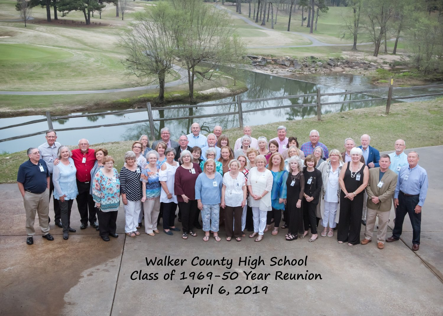 The Walker County High School Class of 1969 held a reunion at Musgrove Country Club on April 6, 2019. The classes of 1967 and 1968 also held their reunions that evening.