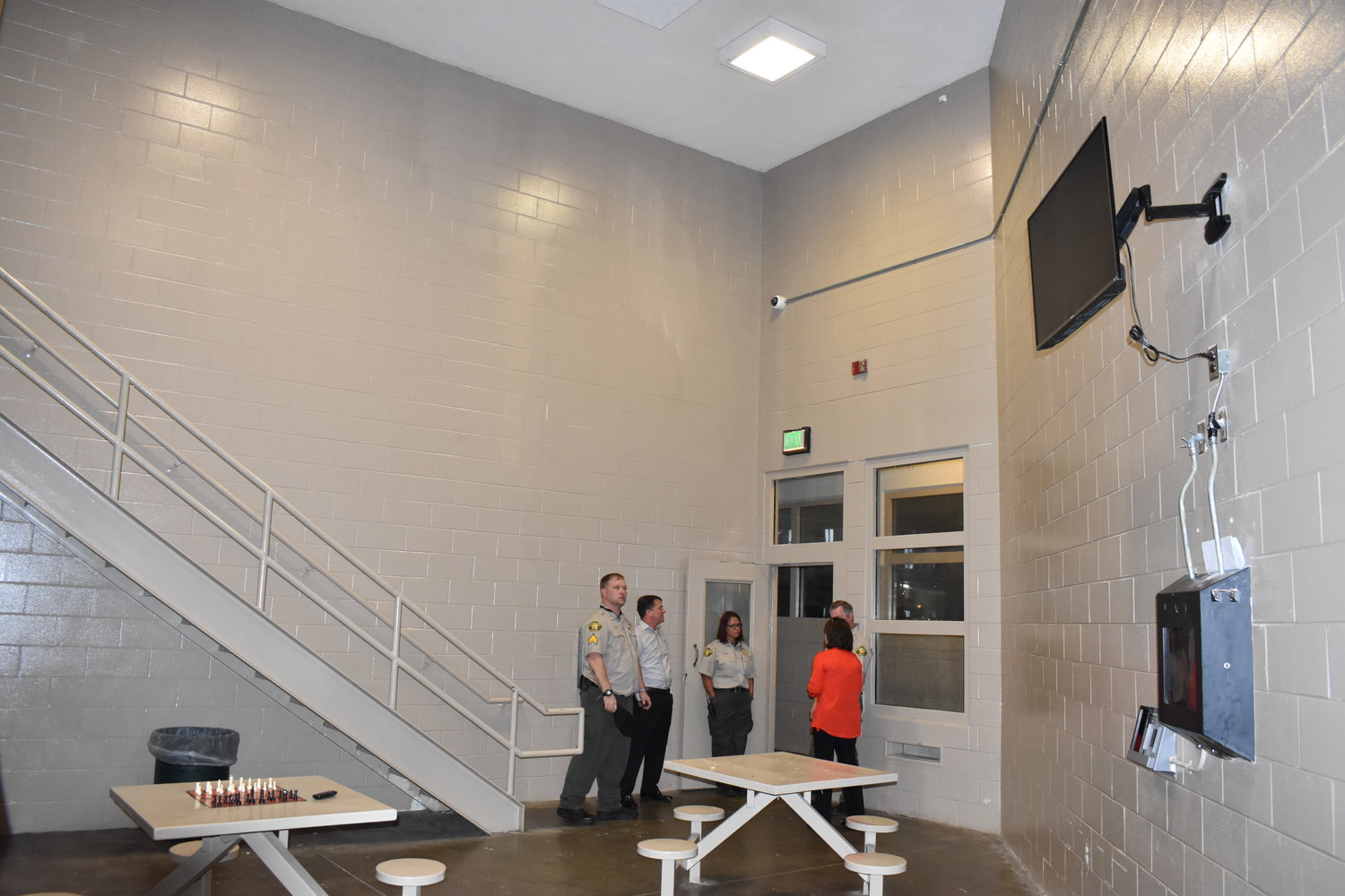 Tour given of jail improvements | Daily Mountain Eagle