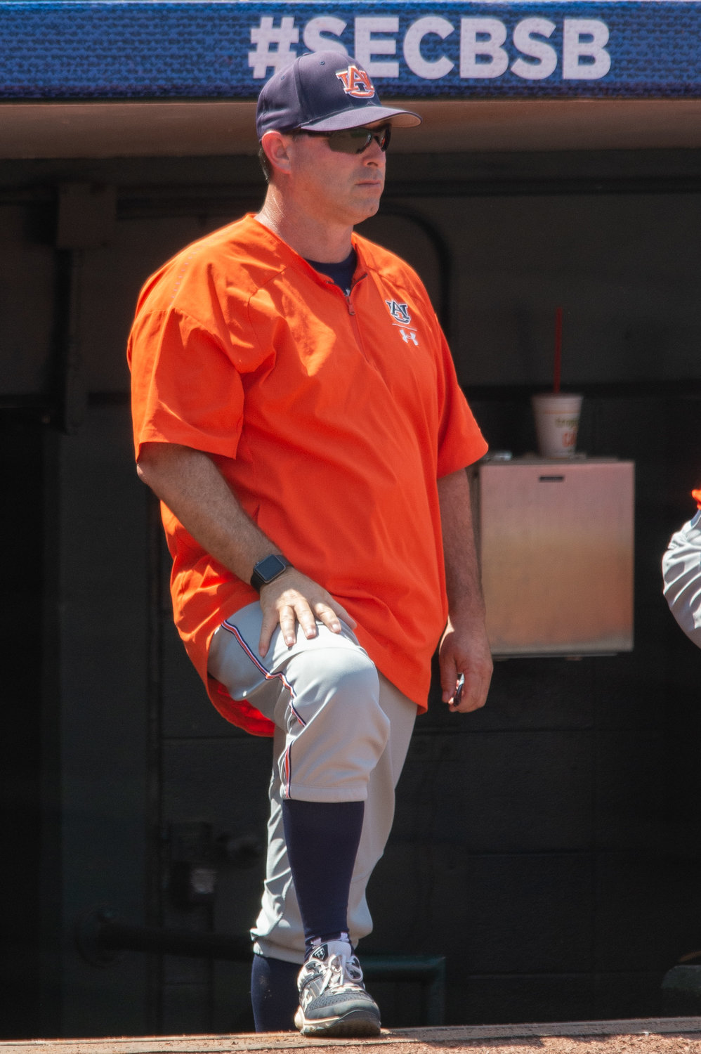 Auburn was eliminated from the SEC Tournament on Thursday following a 4-3 loss to LSU.