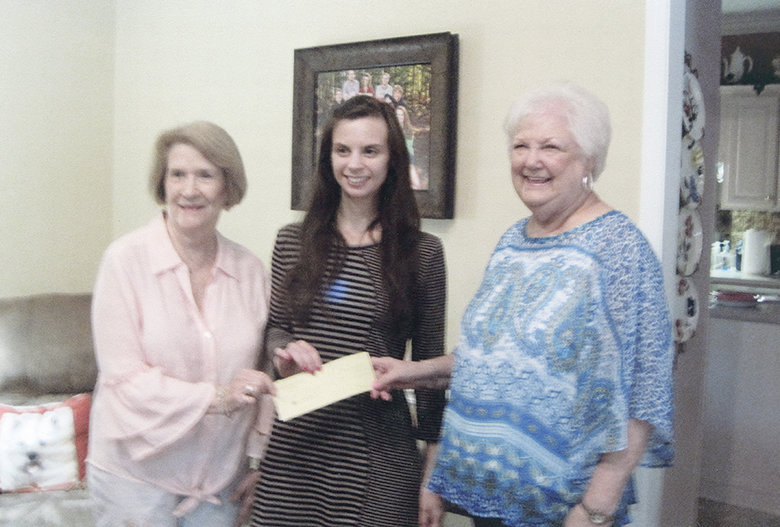 Presenting the May Laureate Rho service donation to the Kid One External 