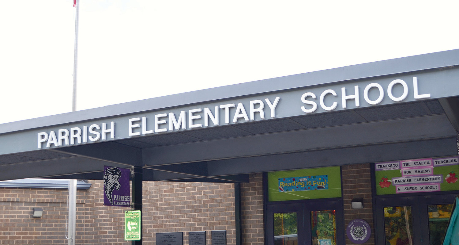 Parrish Elementary will be growing for the upcoming school year.