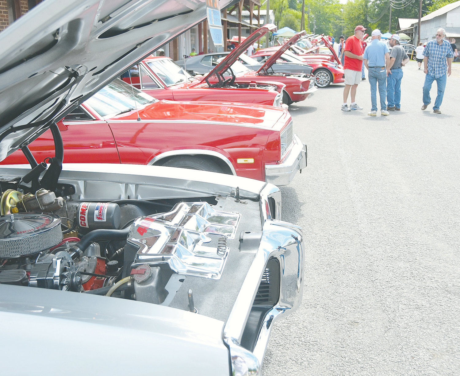 The 24th annual Nauvoo Car Show, sponsored by theNauvoo Historical Society, will be held today in Nauvoo, with hundreds of classic vehicles from around the Southeast on display. Registration begins at 7 a.m.