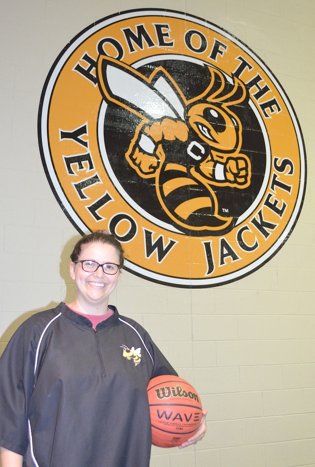 Britani Faile is the new Corner High School varsity girls basketball coach. She served as the Yellow Jackets' JV girls coach last season.