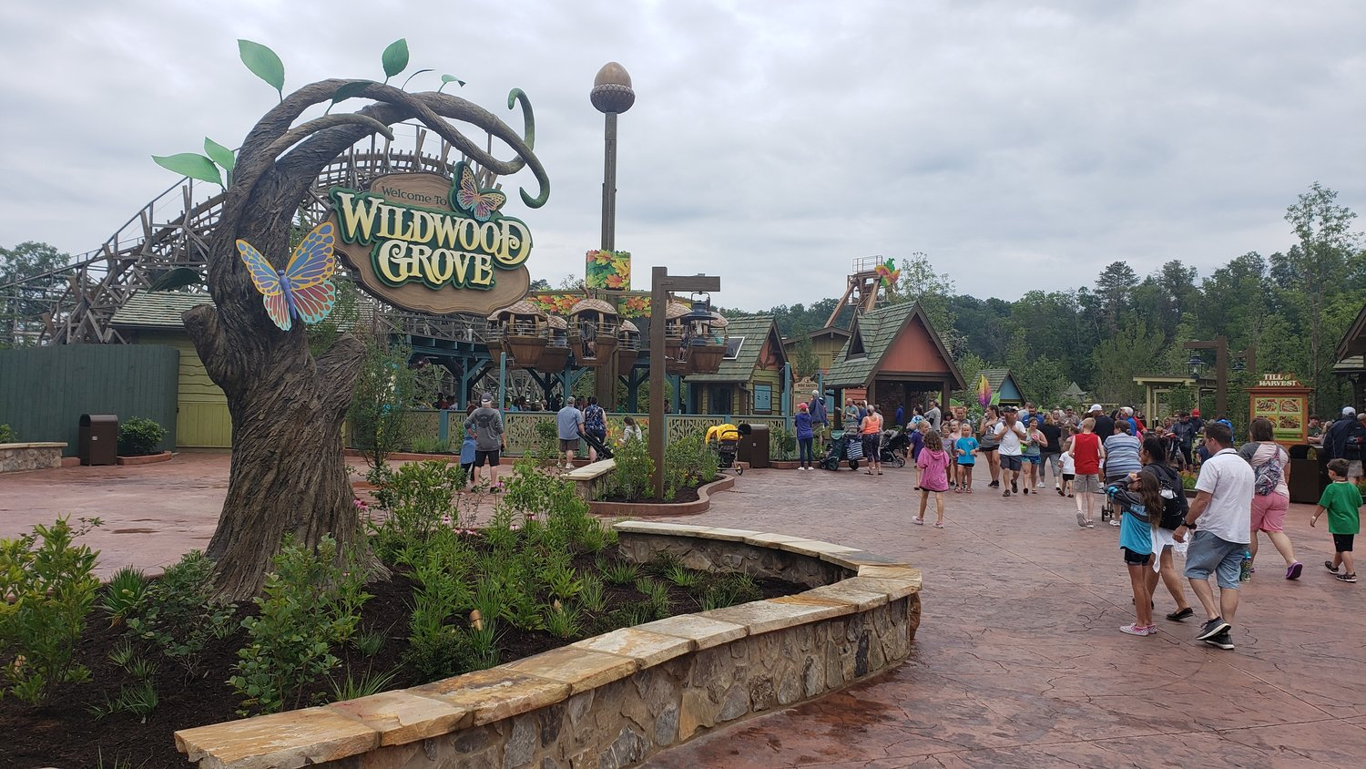 Dollywood's new Wildwood Grove is a perfect addition to the park after opening this past May.