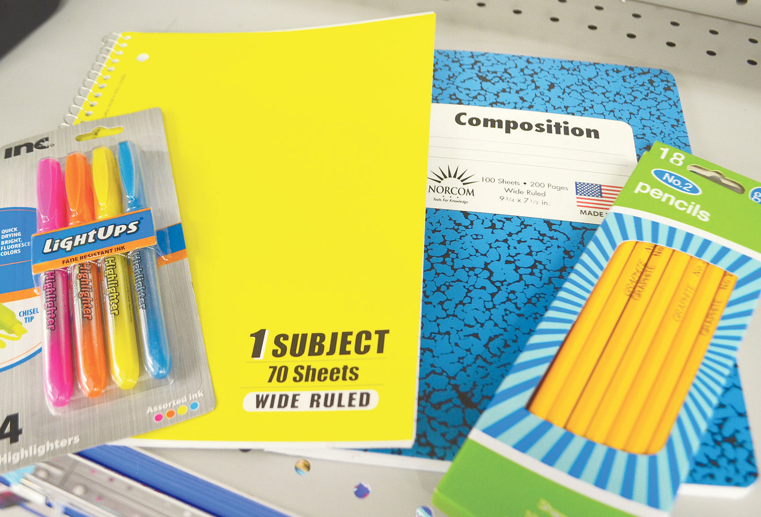 Shoppers will get a tax break on basic school supplies and other items starting this Friday and lasting through Sunday.