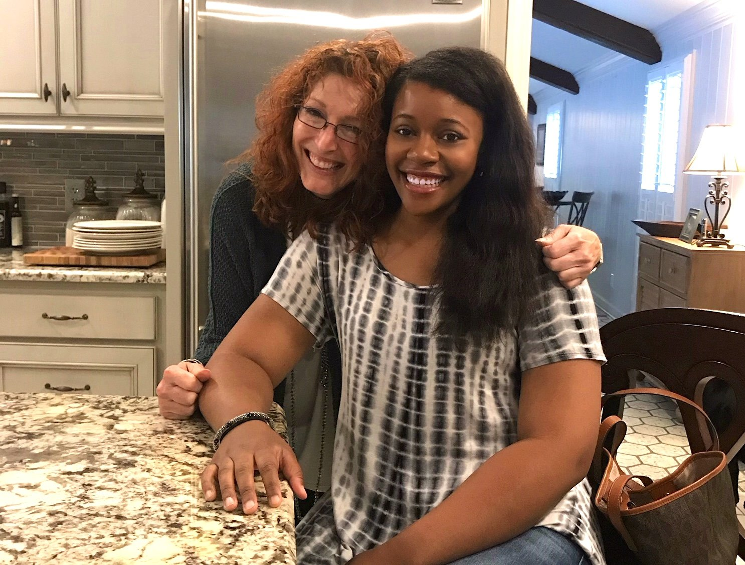 University of Alabama student Rolanda Tina Turner poses with Walker College Foundation Executive Director Holly Trawick. Turner has been interning at the Foundation this summer.
