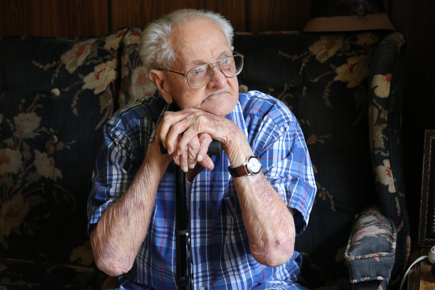 Bob Hester of Parrish celebrated his 102nd birthday early in July. He shared some of  the stories of his life.