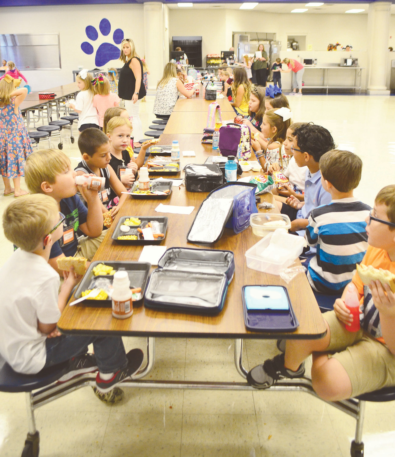 Thousands of students returned to Jasper City and Walker County schools today. Despite a rainy day, teachers and administrators reported everyone had a good first day back. A video with highlights from the first day can be found on the Daily Mountain Eagle Facebook page.