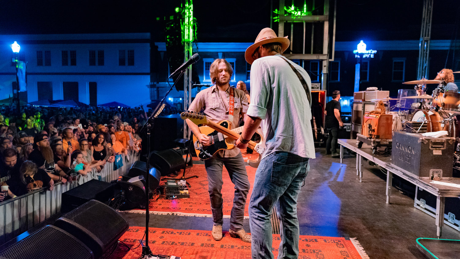 Whiskey Myers drew a large crowd on the Friday night of the 2019 Foothills Festival.
