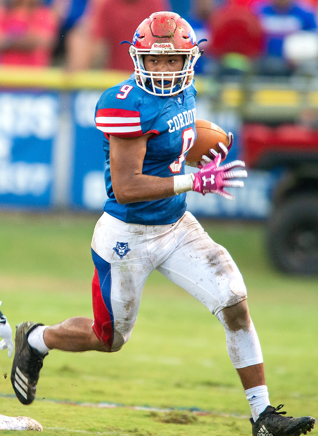 Cordova's Justin Wallace rushed for 251 yards and four touchdowns in the Blue Devils' 48-28 loss at Northside on Friday.