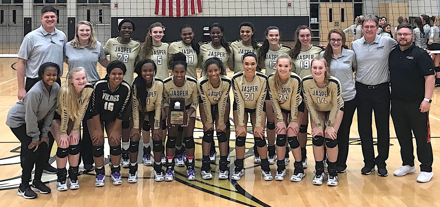 Jasper High School won the 5A, Area 11 Tournament on Monday.
