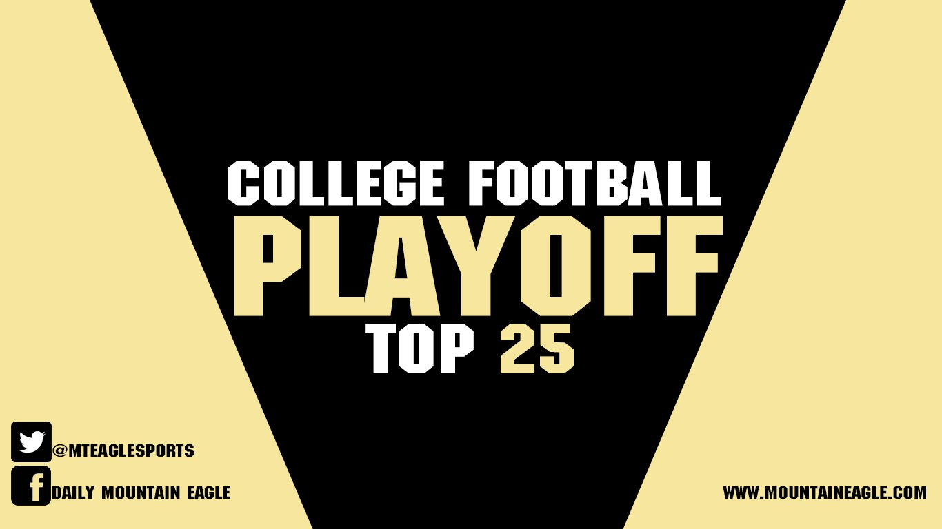 The College Football Playoff Rankings were unveiled on Tuesday and featured a new number one team.