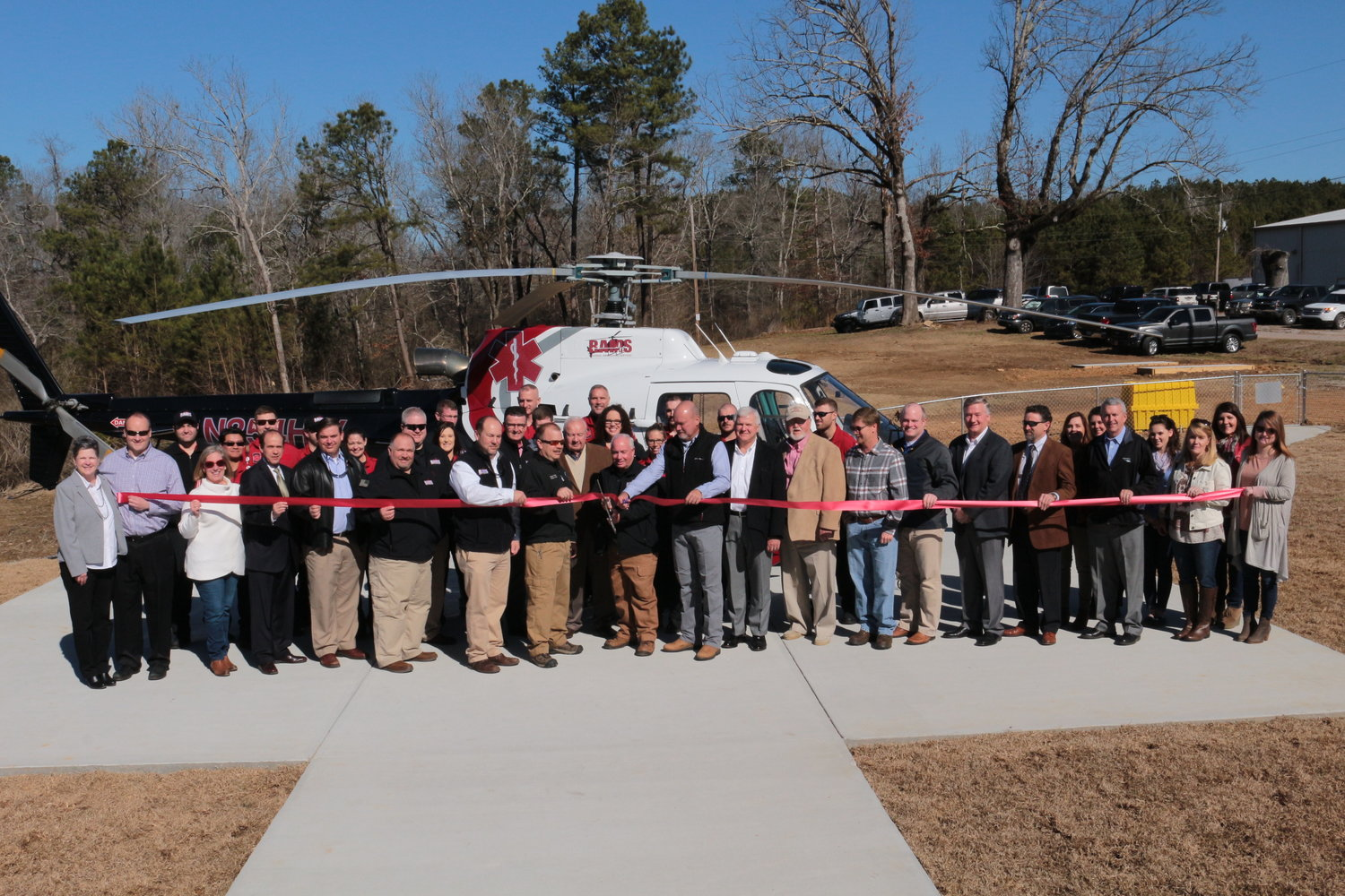 A ribbon cutting was held for RAMS in January 2018.