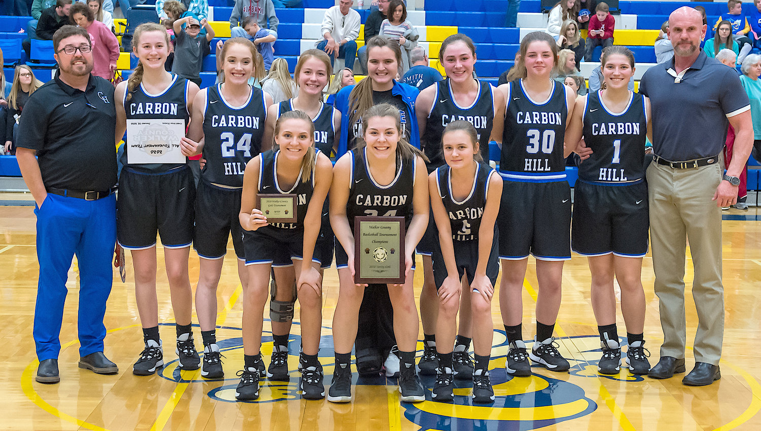 Carbon Hill won the Walker County Tournament title, beating top seed Curry 47-44 on Saturday.